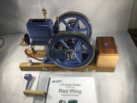 Newbuild Redwing 1/4 Scale Water Cooled .New build by us.